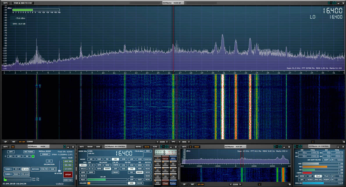 RSPduo G33DDC 16.4khz working1