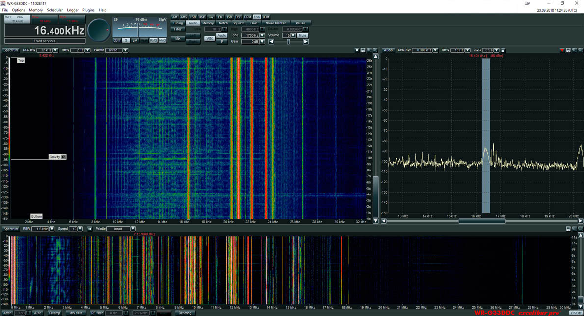 RSPduo G33DDC 16.4khz working2