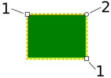 Inkscape draw rectangles