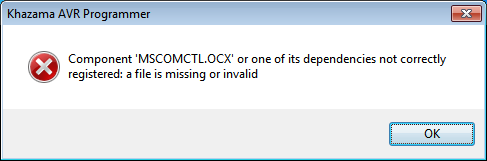 MSCOMCTL OCX-missing01