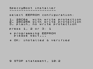 SpeccyBoot fw loader 2