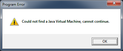 jvm dll-not-found