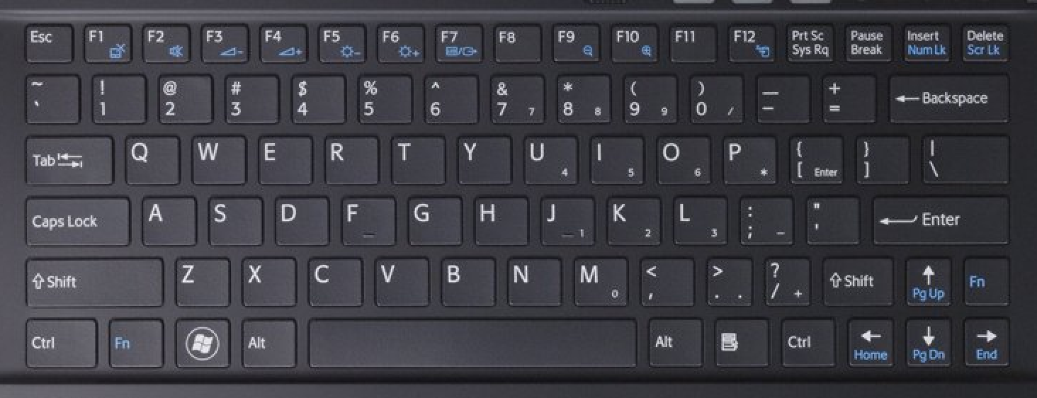 sony vpcx laptop keyboard