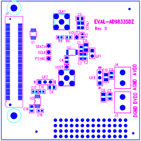AD9833 Evaluation Board Silkscreen fig37