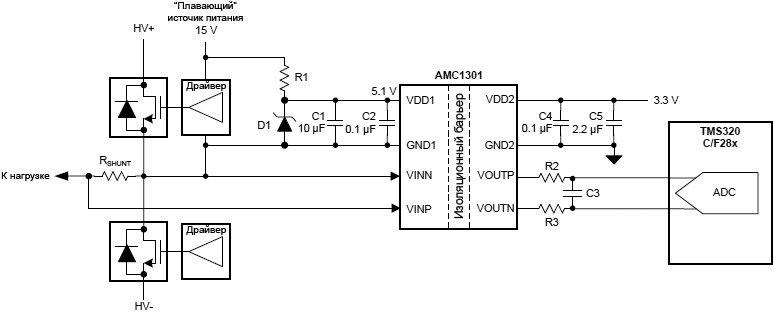 AMC1301 for Current Sensing fig49