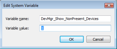 AN 107 Edit System Variable DevMgr Show NonPresent Devices fig71