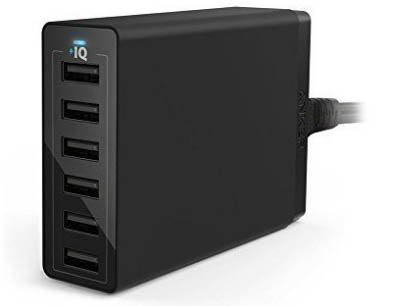 Anker 60W 12A 6 Port USB Charger