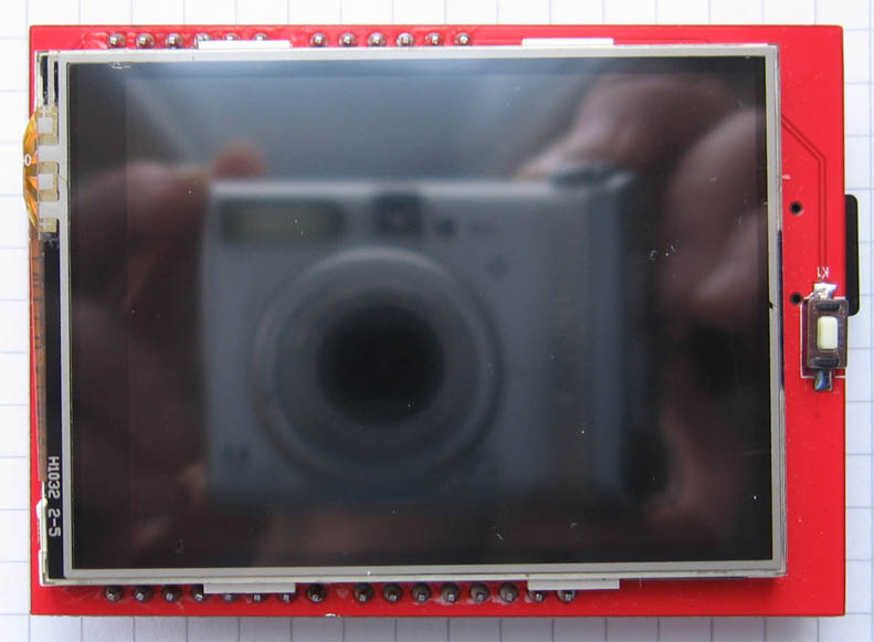 TFT LCD shield 24 top