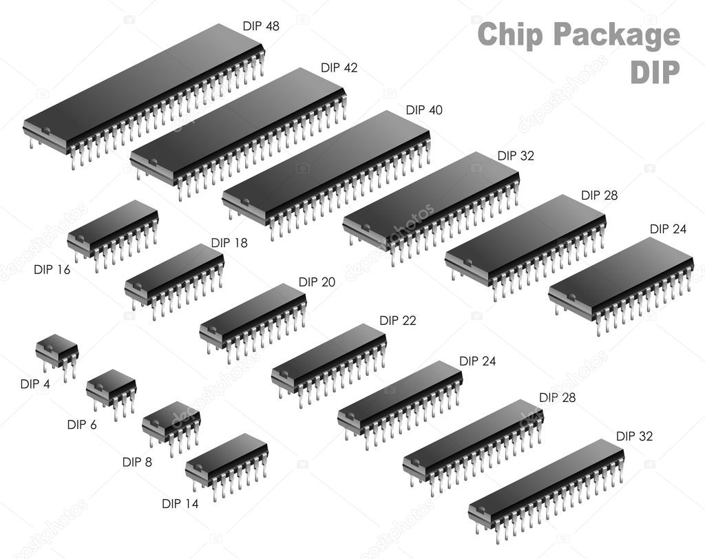 PCB DIP packages