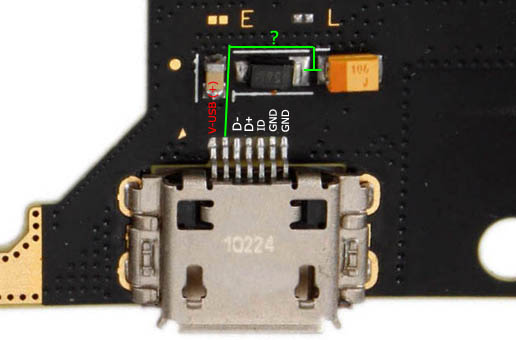 Samsung GT N7000 USB connector pinout