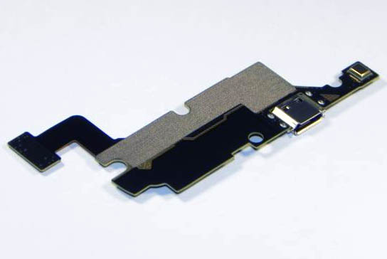 Samsung GT N7000 charging connector microfone board bottom