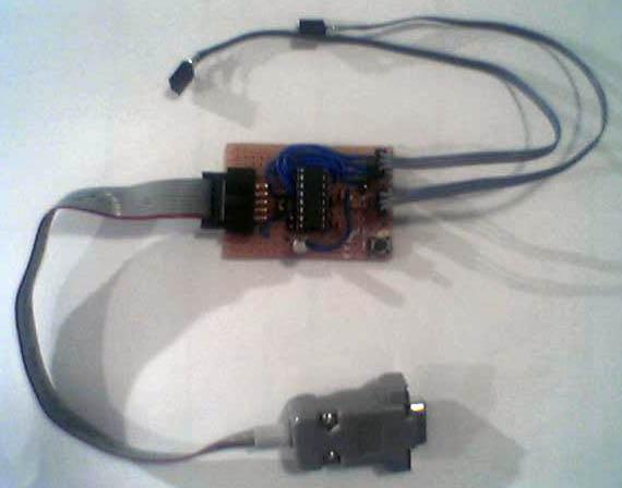 Serial-AVR-programmer