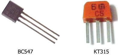 Transistors-BC547-KT315