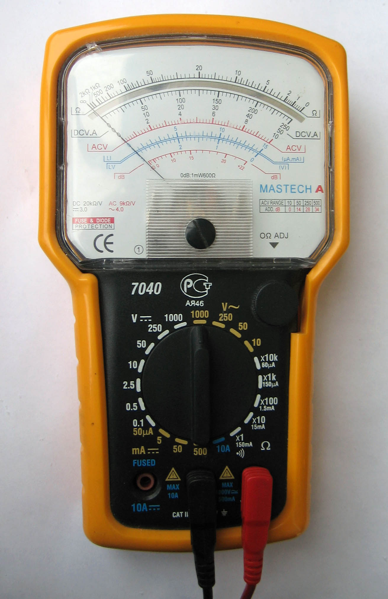 analog-multimeter-MASTECH-MS7040