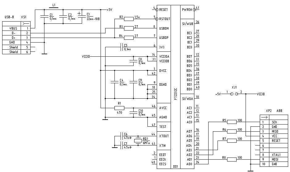 ft2232-avr