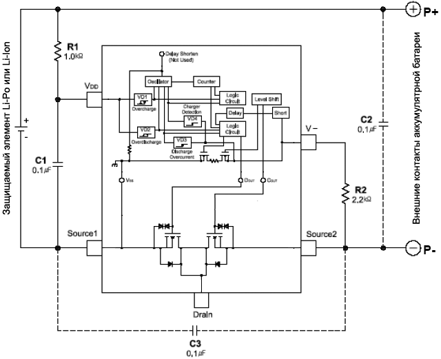 MP24AD Application Circuit Example