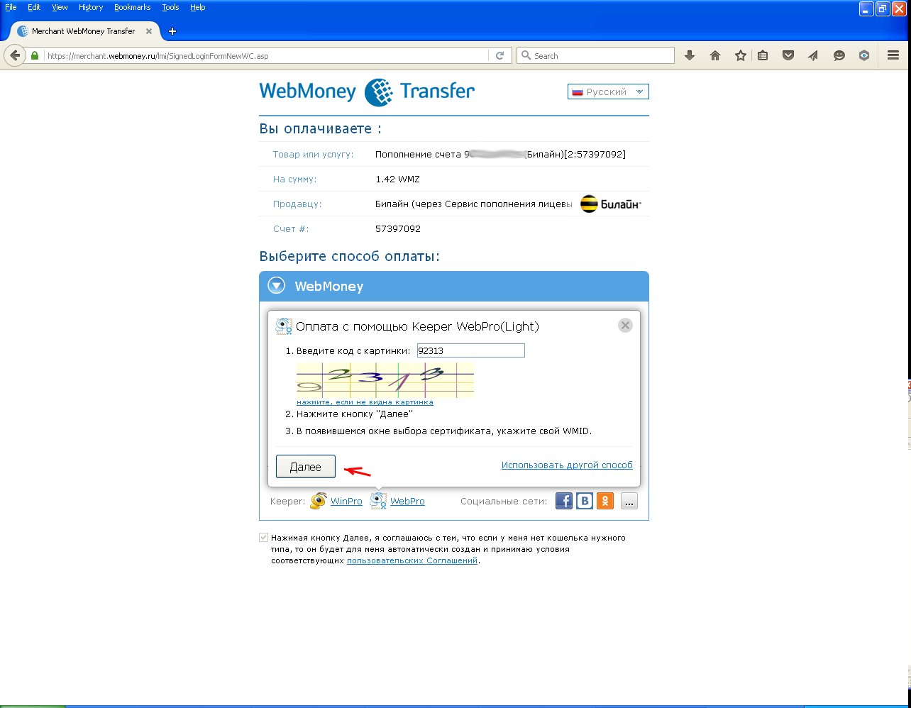 WebMoney Firefox step05