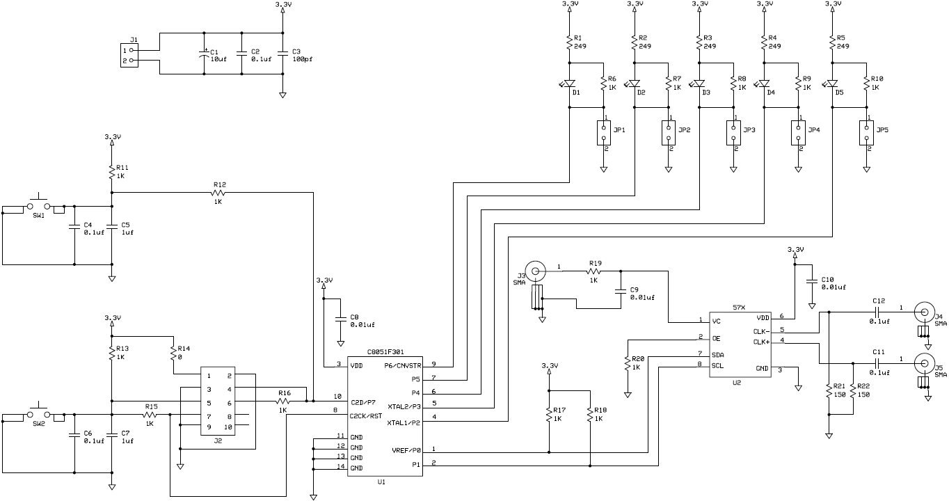 AN334 PCB Schematic fig02