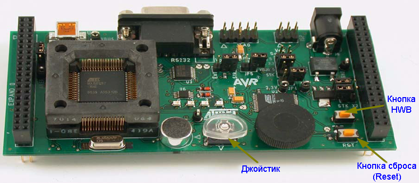 AVR270-demo-board