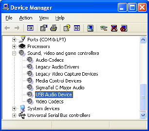 AVR298-USB-Audio-in-Device-Manager