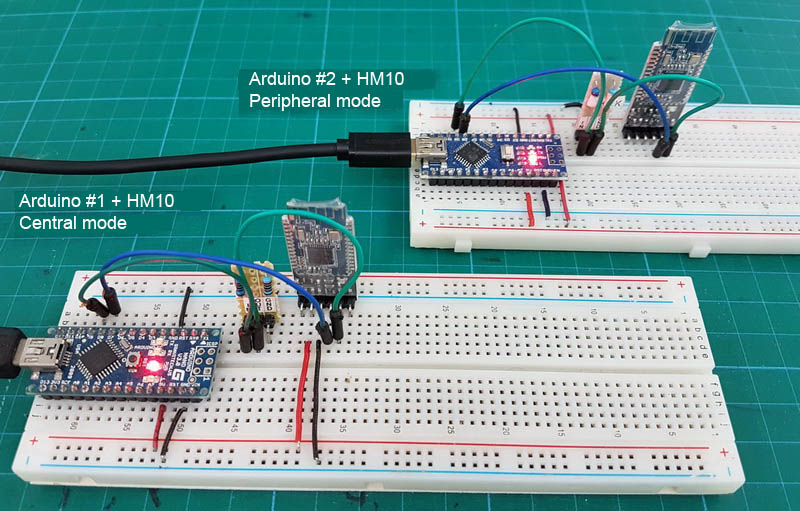 HM 10 Breadboard Connection 02
