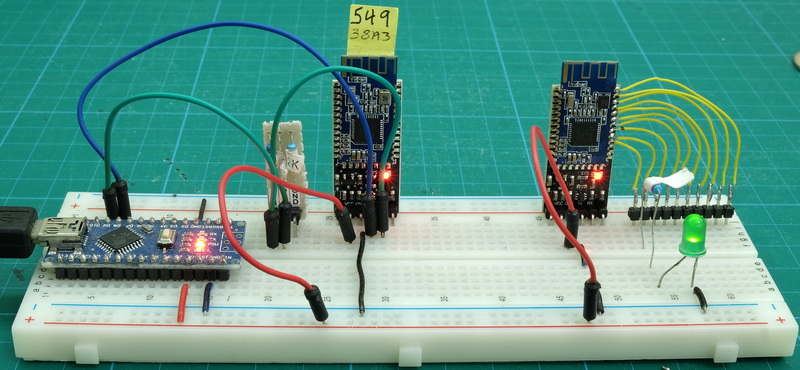HM 10 MODE2 Breadboard noSwitch
