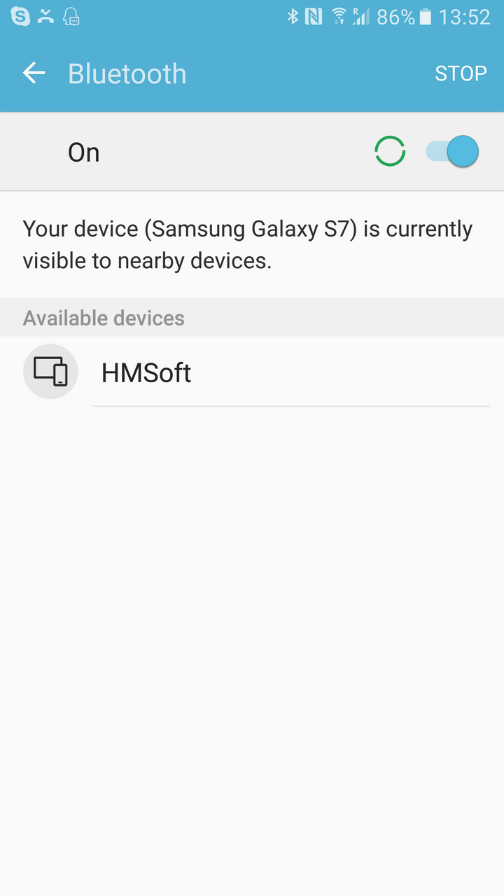 HM 10 SerialMonitor 06 NAME Android
