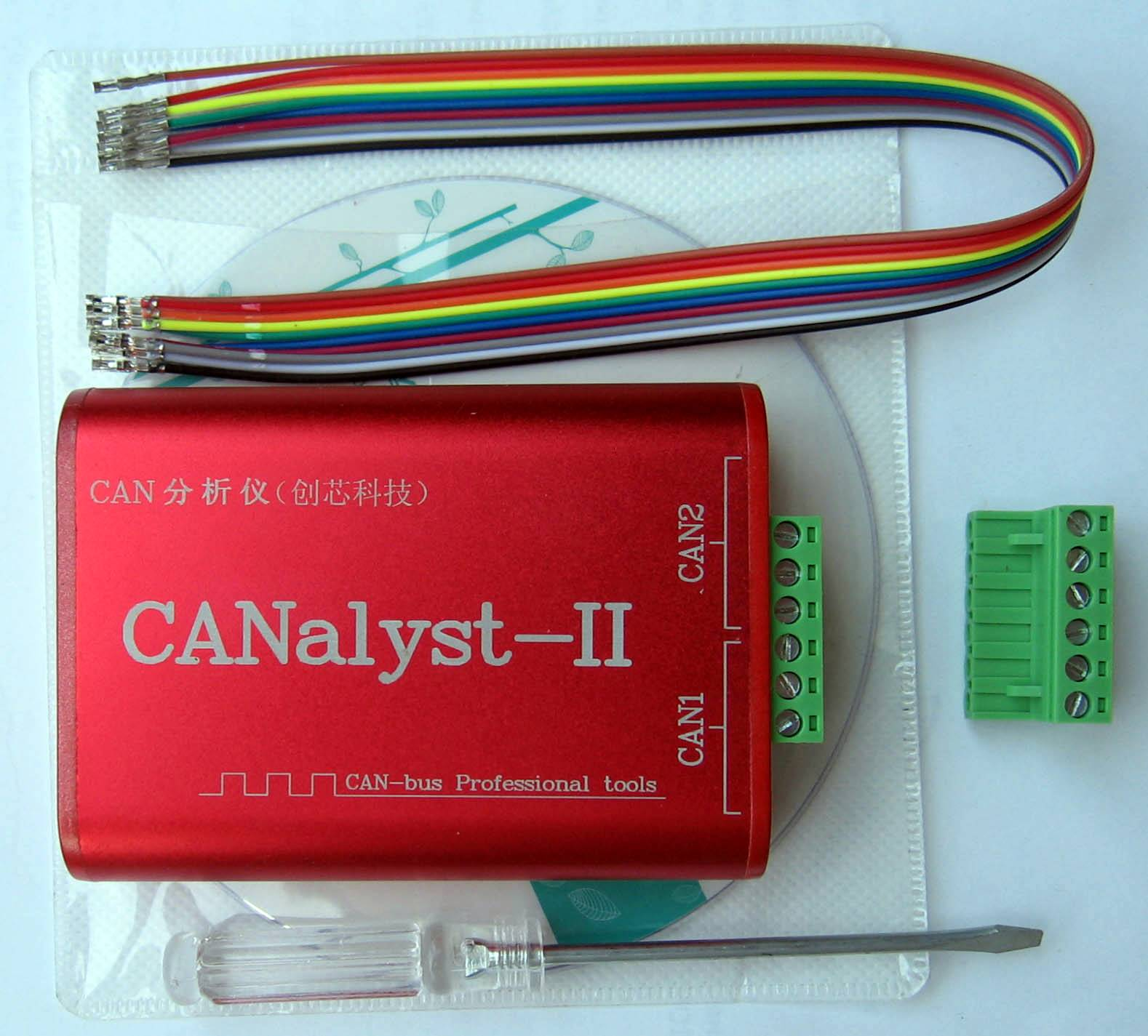 CANalyst II package
