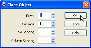 Clickteam Fusion Active Object Clone dialog