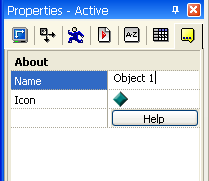 Clickteam Fusion Active Object rename