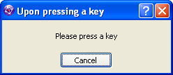 Clickteam Fusion create event press key ask