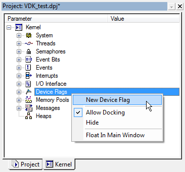 VDK Device Flags context menu fig330