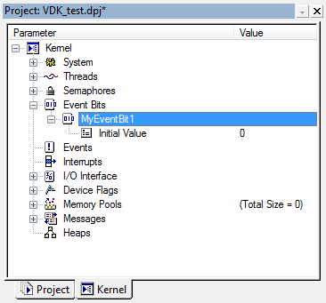 VDK Event Bit properties fig318