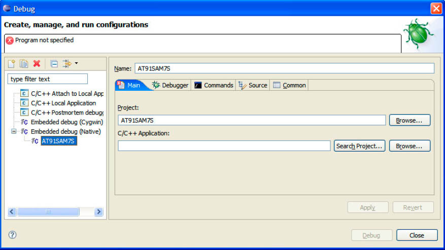 Eclipse Basic Embedded Debug Config fig5 17