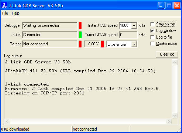 GDB Server Main Window fig5 15