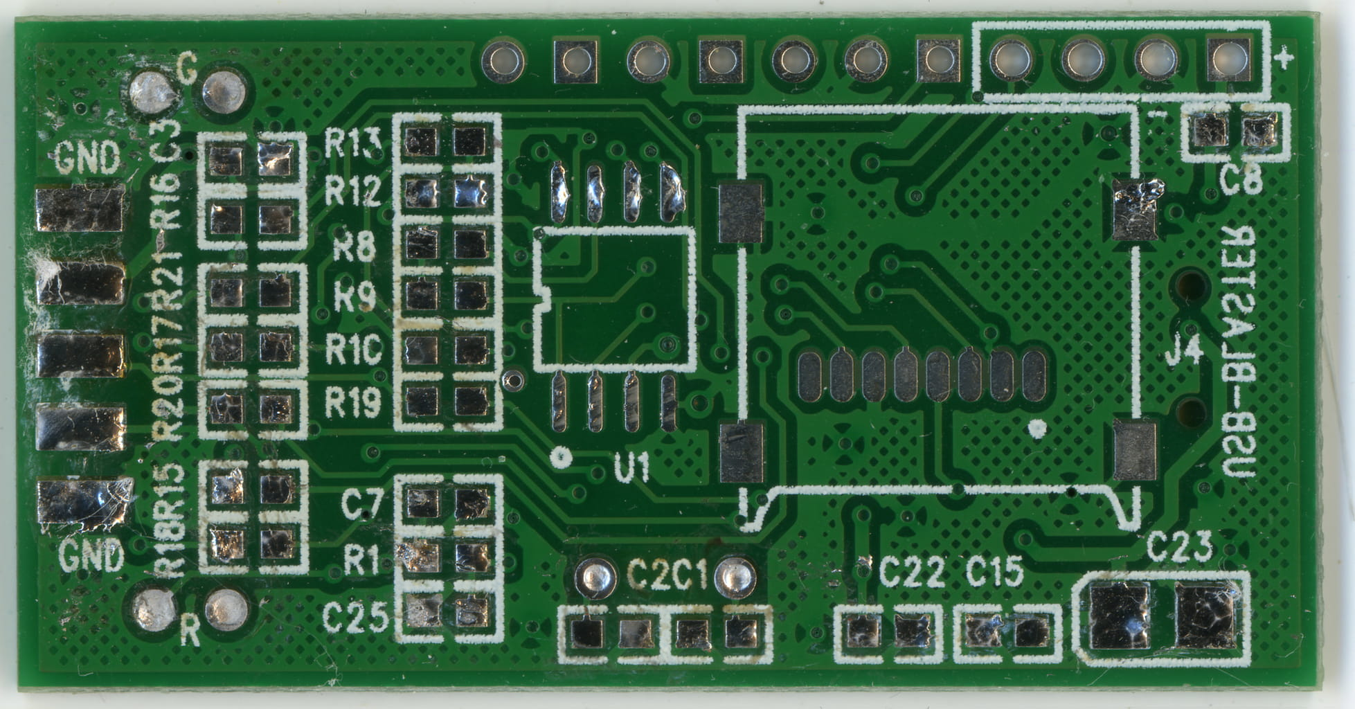 mini stm32 back board