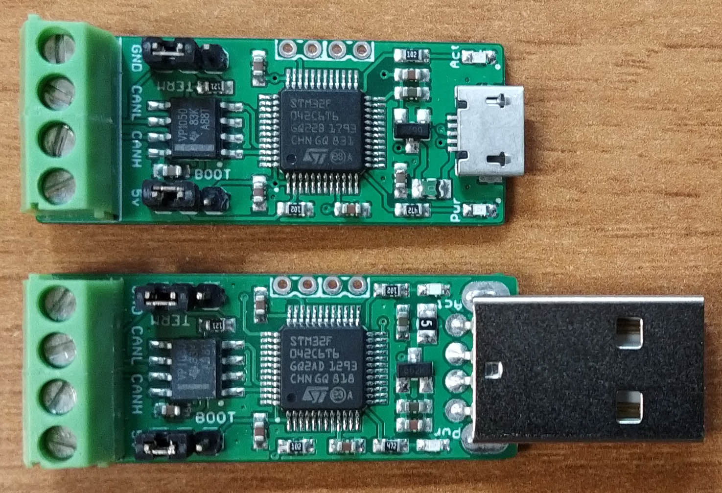 CANable USB CAN boards