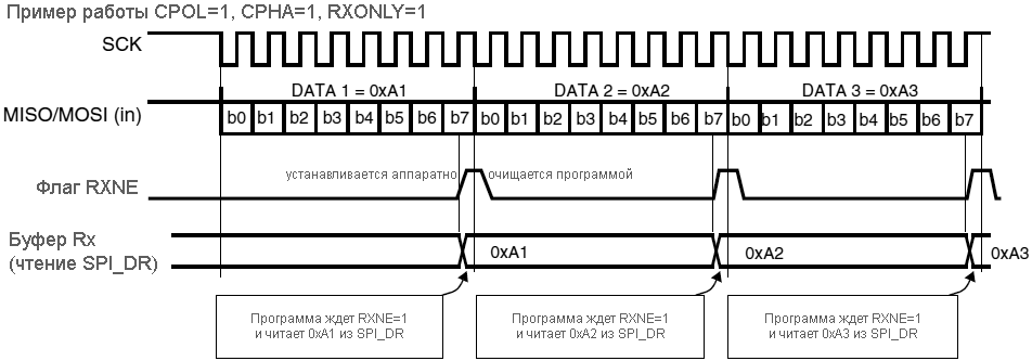 SPI-RXNE-behavior-receive-only-mode-continuous-transfers-fig257