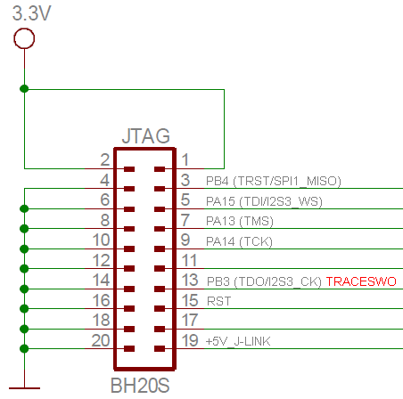 STM32-P407-JTAG-SWO-connection
