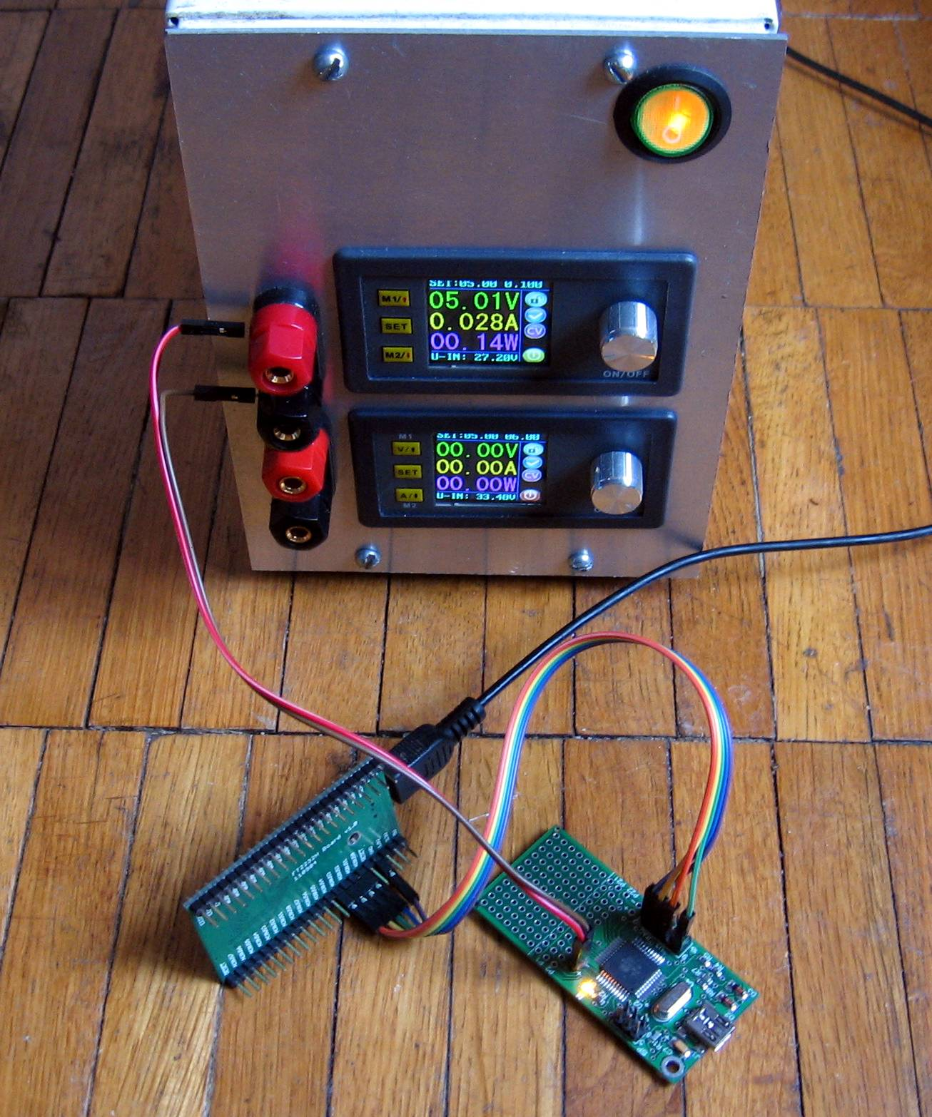 UrJTAG with AVR USB MEGA16