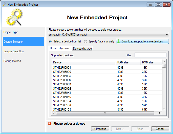 VisualStudio ARM 04 newdev