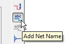 Add Net Name tool