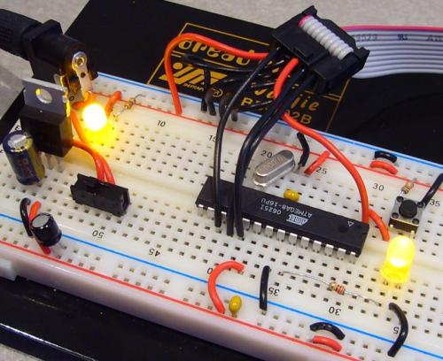 Crystal-connect-breadboard