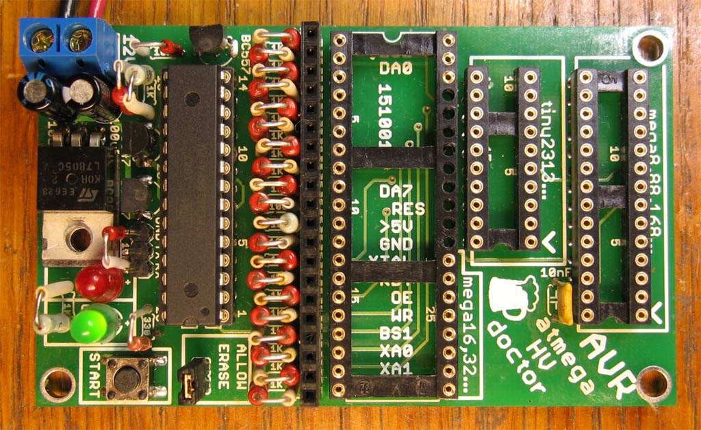 ATmega fusebit doctor assembled