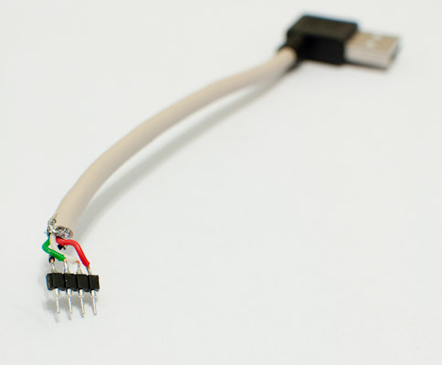 v usb tutorial cable