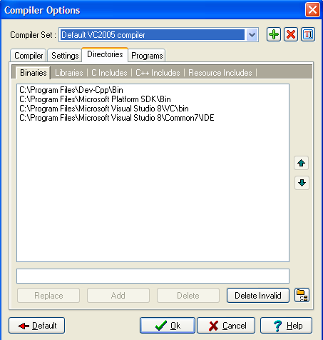 wxDev Visual Studio Compiler02