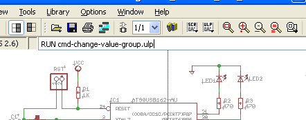 EAGLE run ULP from command promt