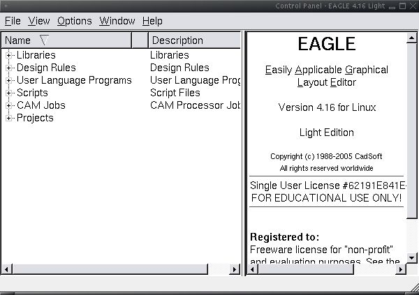 Eagle make component01