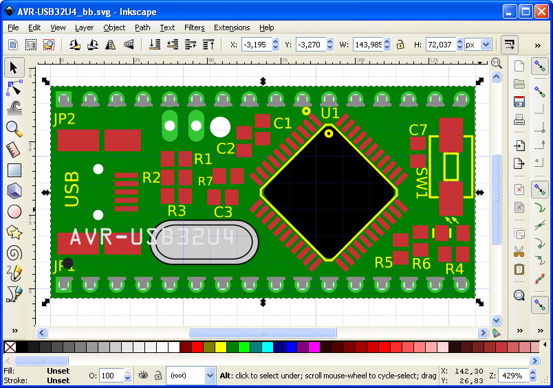Inkscape-SVG-Breadboard-done