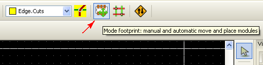 KiCAD-Pcbnew-activate-autoplace-mode